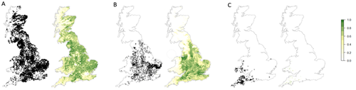 Image: Example of Natural Environment Valuation Online on UK maps