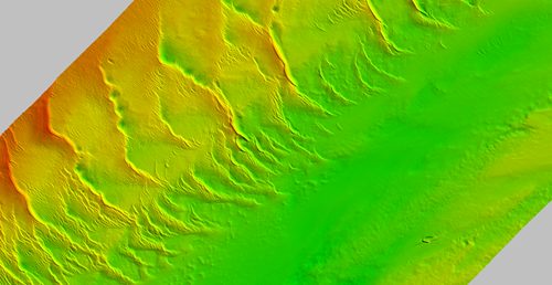 Underwater dunes seen at Offshore Overfalls MCZ © JNCC/Cefas