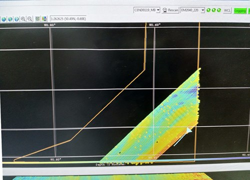 Multibeam from Offshore Overfalls MCZ survey CEND0119 © JNCC/Cefas