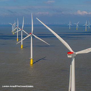 London Array Wind Farm©The Crown Estates