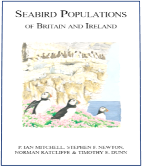 Coverpage of Seabird Populations of Britain and Ireland