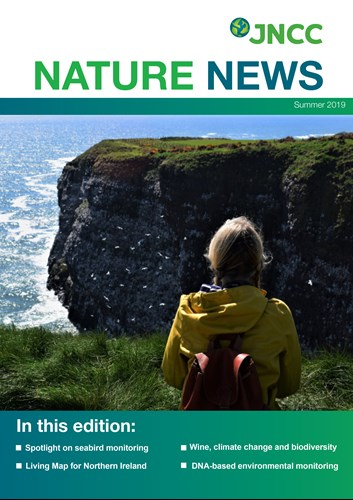 Front cover of Nature News (Summer 2019)