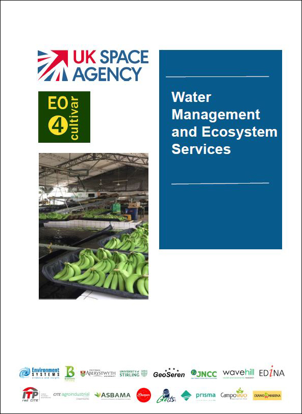 Front cover of the Management Guide for Water Management and Ecosystem Services